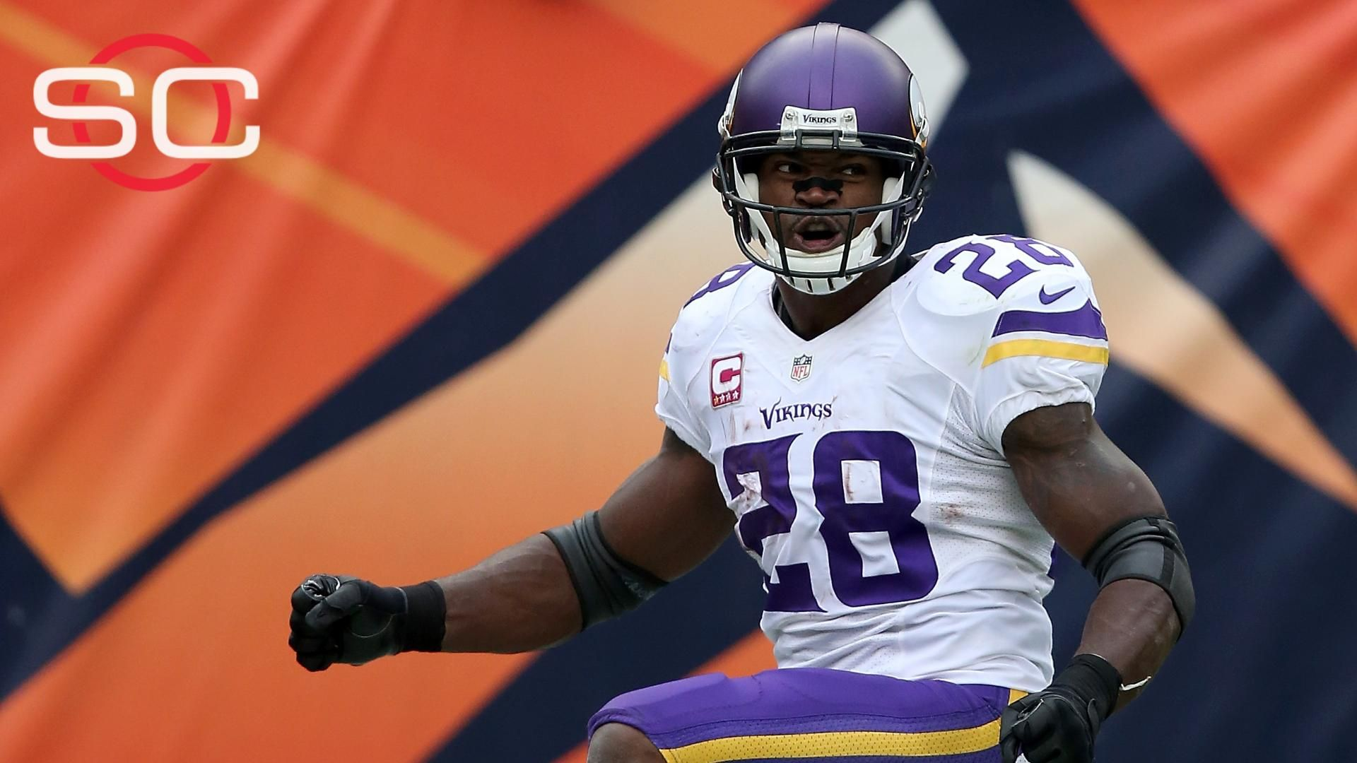 Peterson aims to move up all-time rushing list