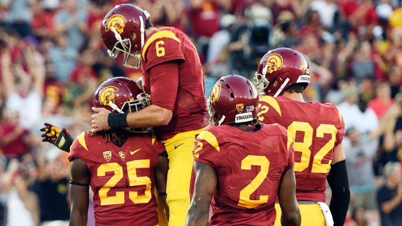 USC ends Utah's perfect season