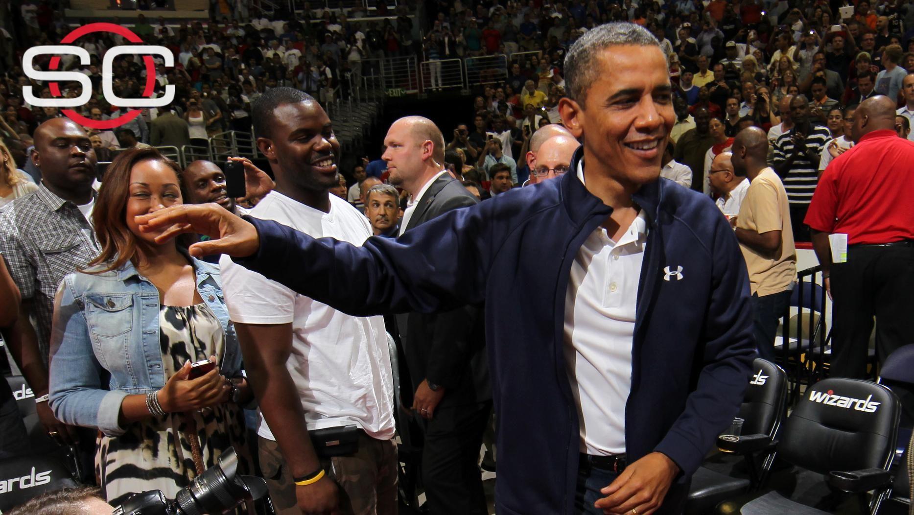Presidential presence for Bulls' opener