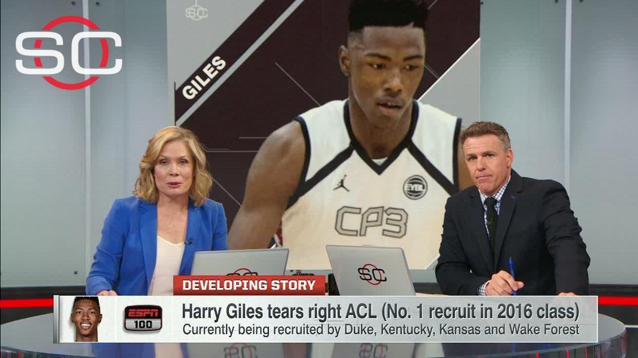 1068cc3c6bdd Giles ACL tear shouldn t impact long-term prospects