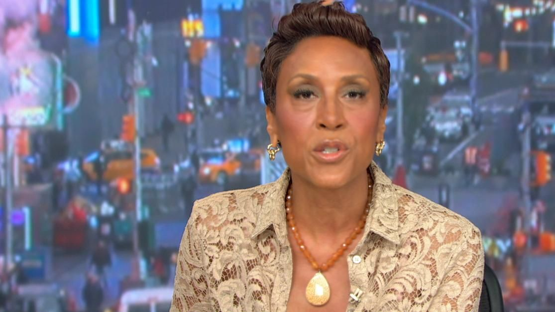 Robin Roberts on CC: He wanted to break cycle