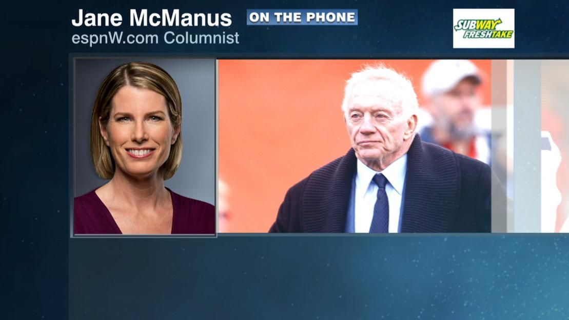 McManus: Jerry Jones finally understanding Hardy situation more