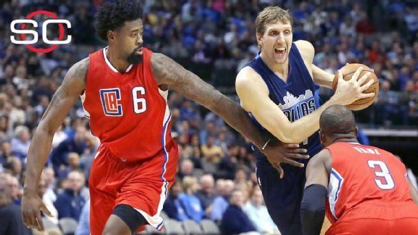 Mavs topple Jordan, Clippers