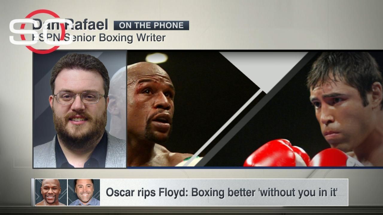 Oscar rips Floyd: Boxing better 'without you in it'