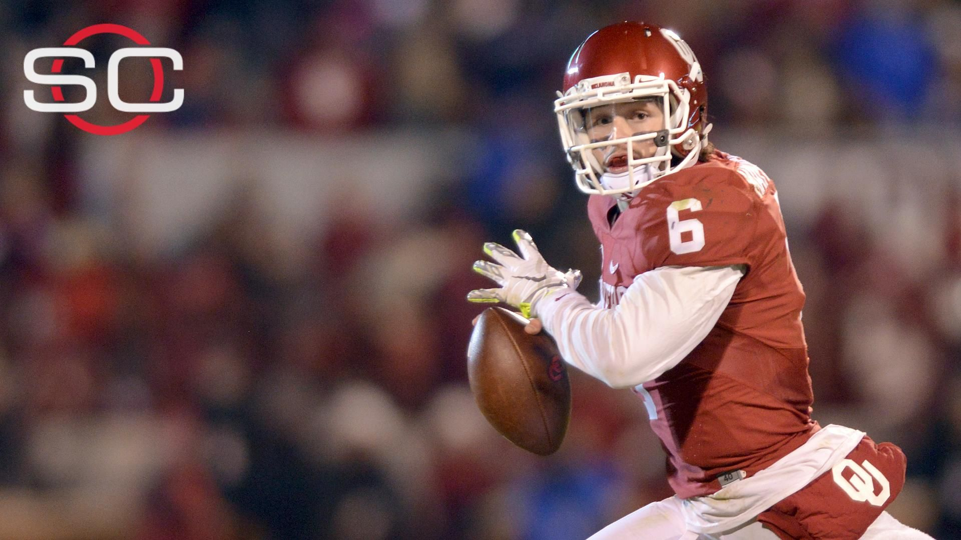 Oklahoma loses Mayfield in close win over TCU