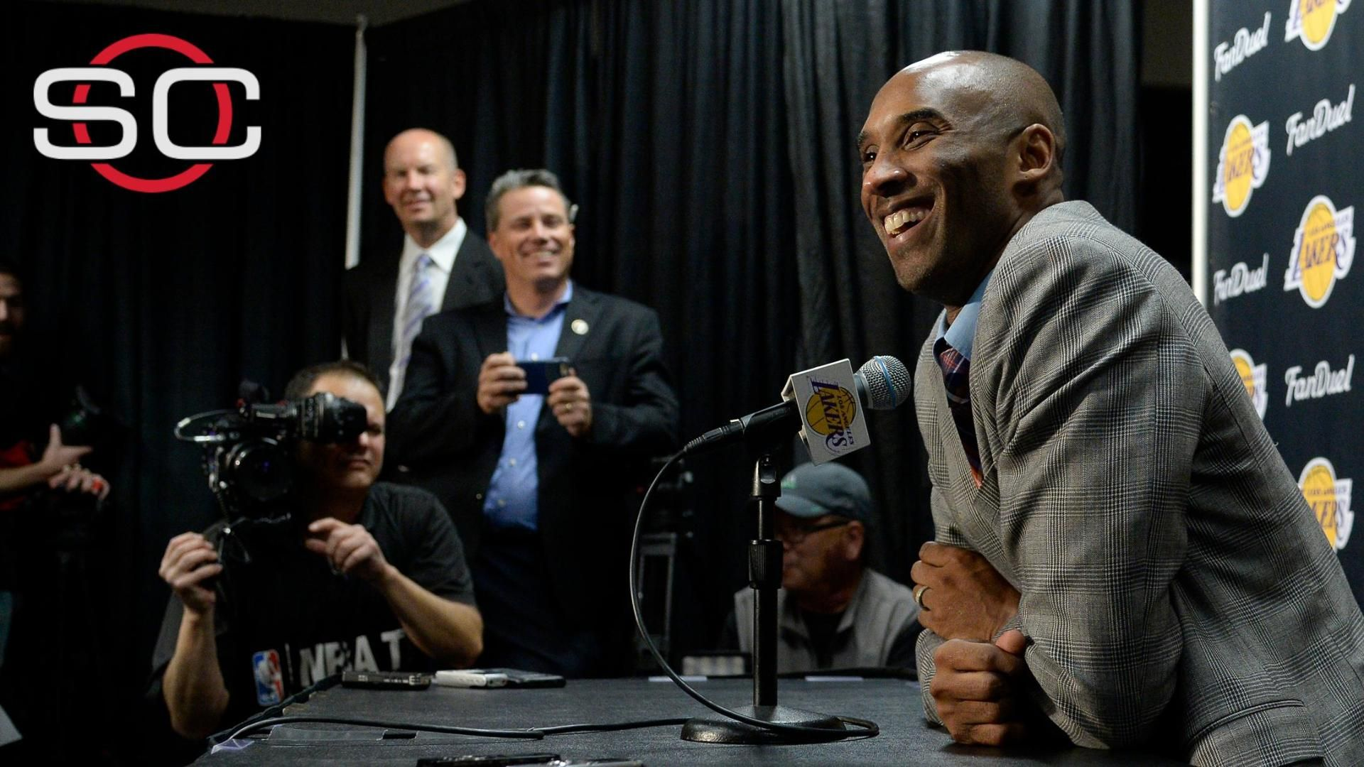 Kobe feeling at peace with decision to retire