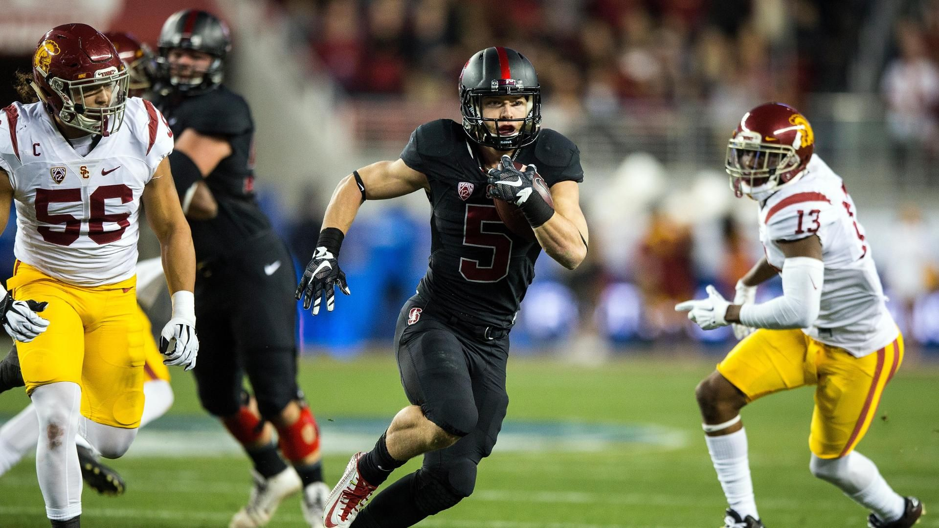 McCaffrey, Stanford roll to Pac-12 Title