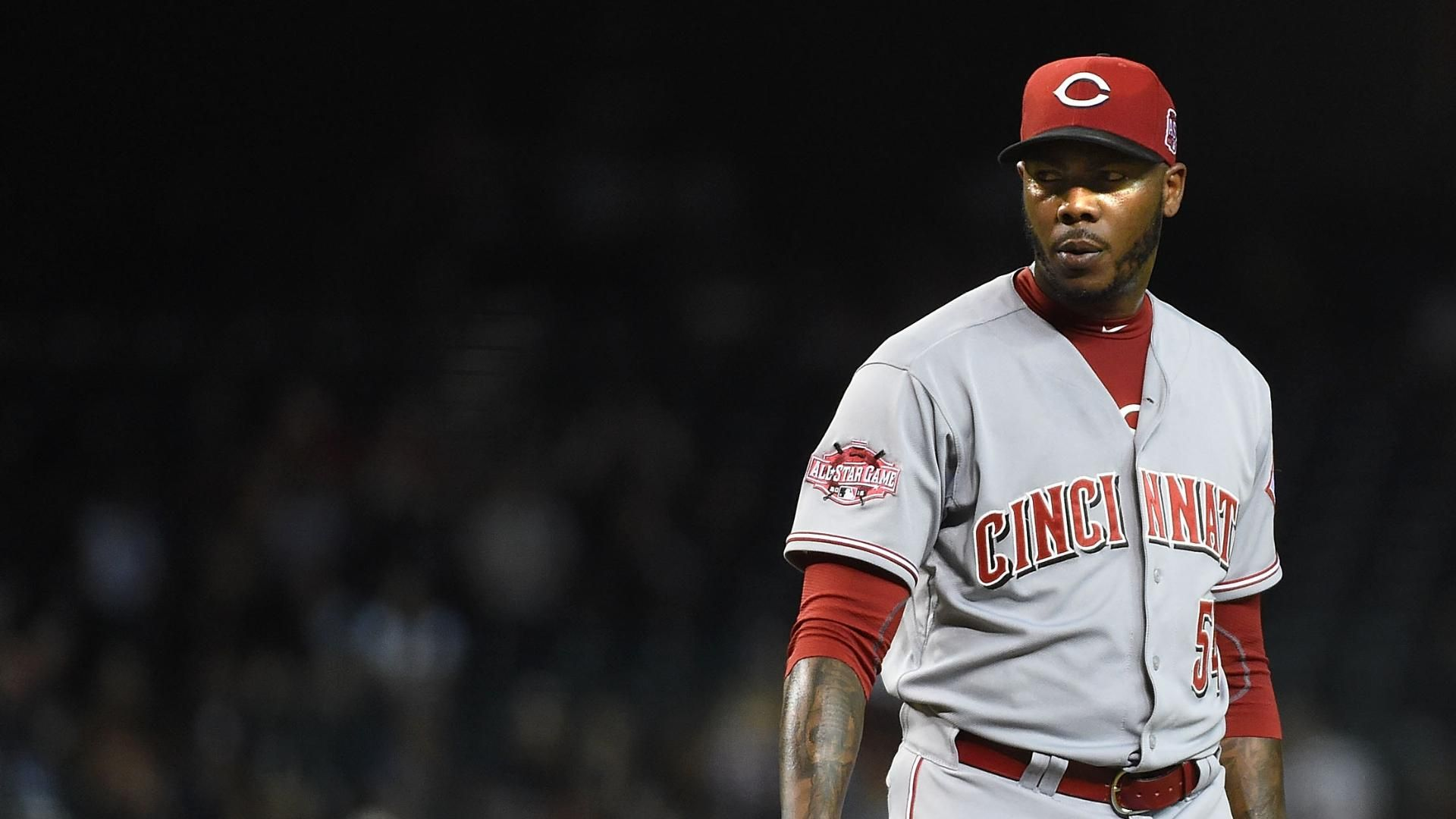 Aroldis Chapman accused of domestic violence
