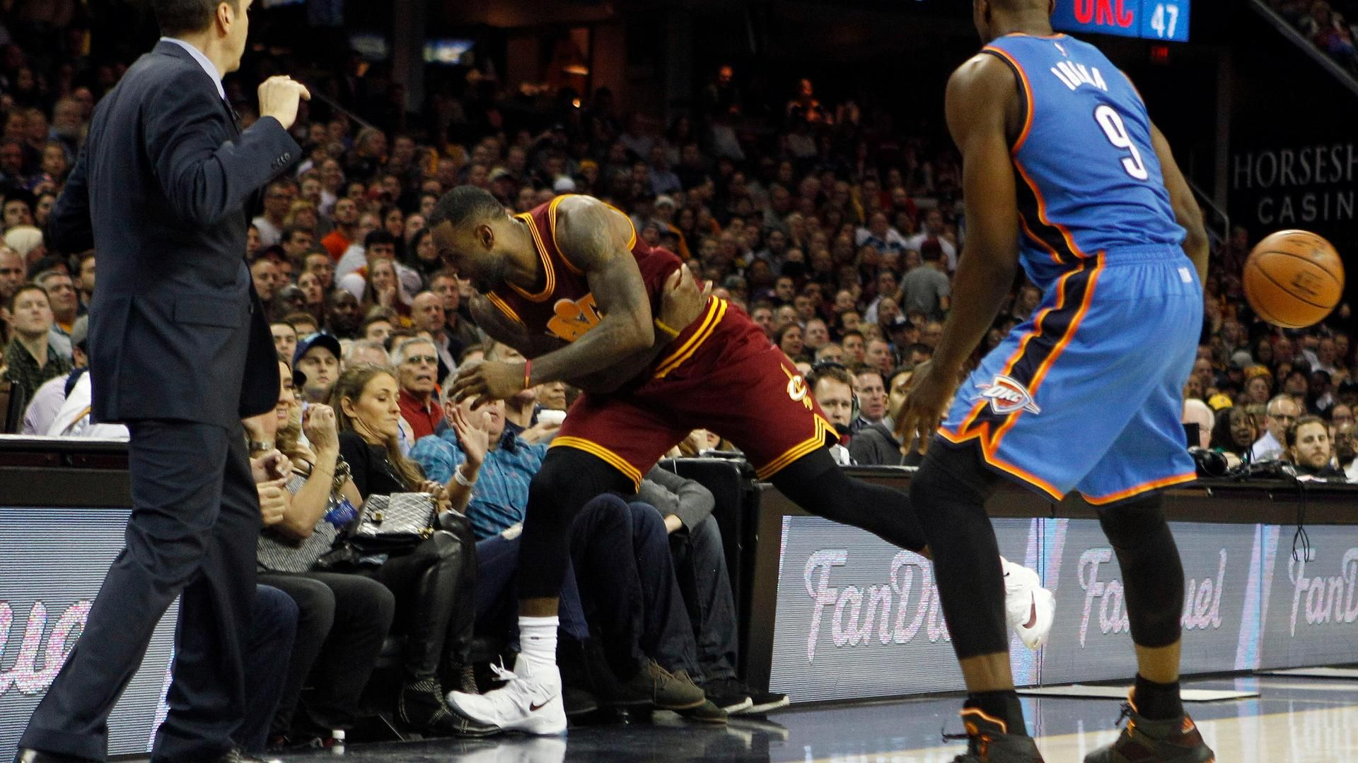 Jason Day's wife accidentally injured by LeBron James