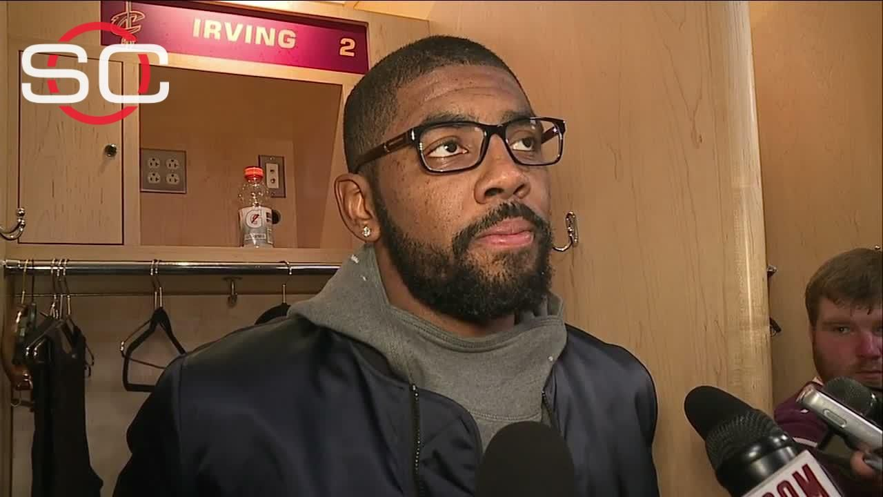 Irving happy to be back on court
