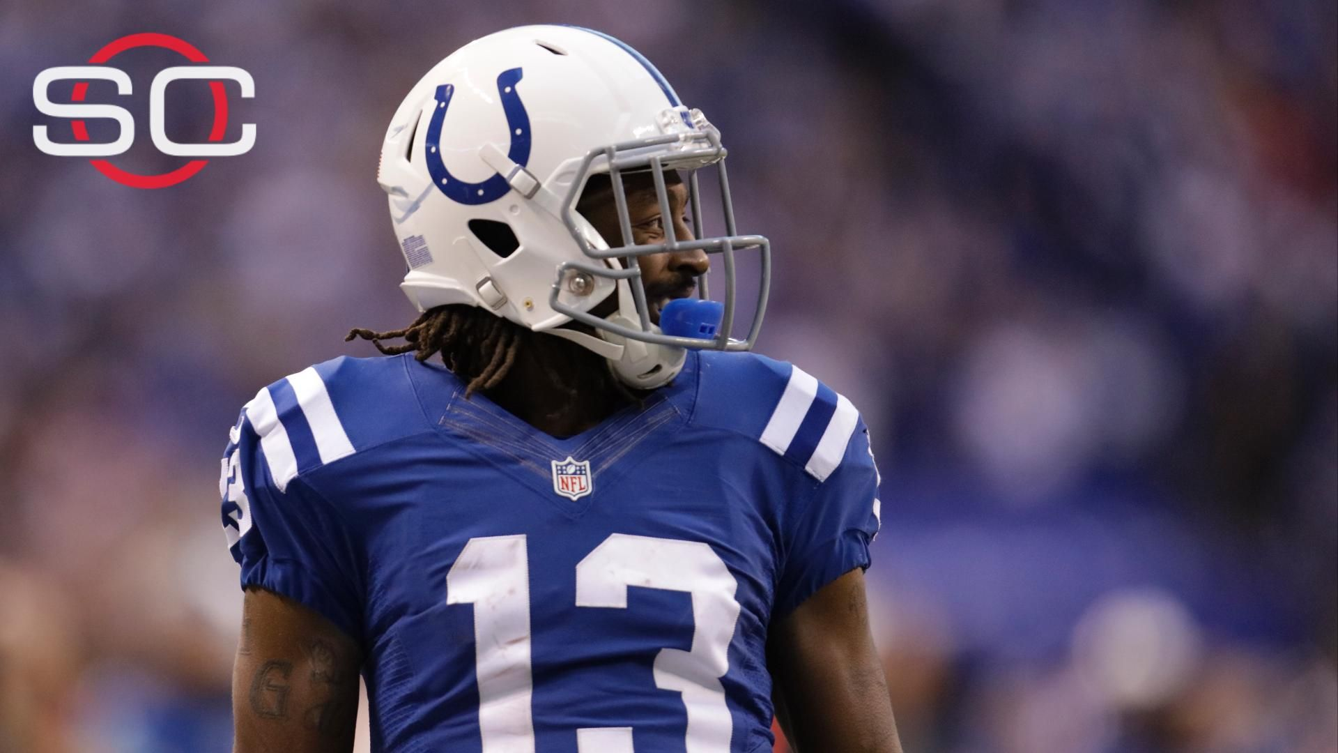 Colts' short passing game irking WR Hilton