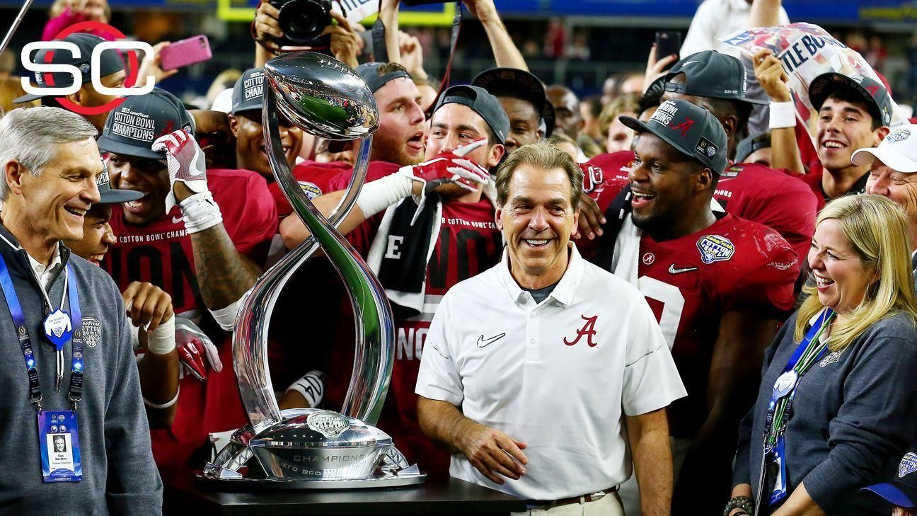 Alabama routs Michigan State, advances to CFP title game