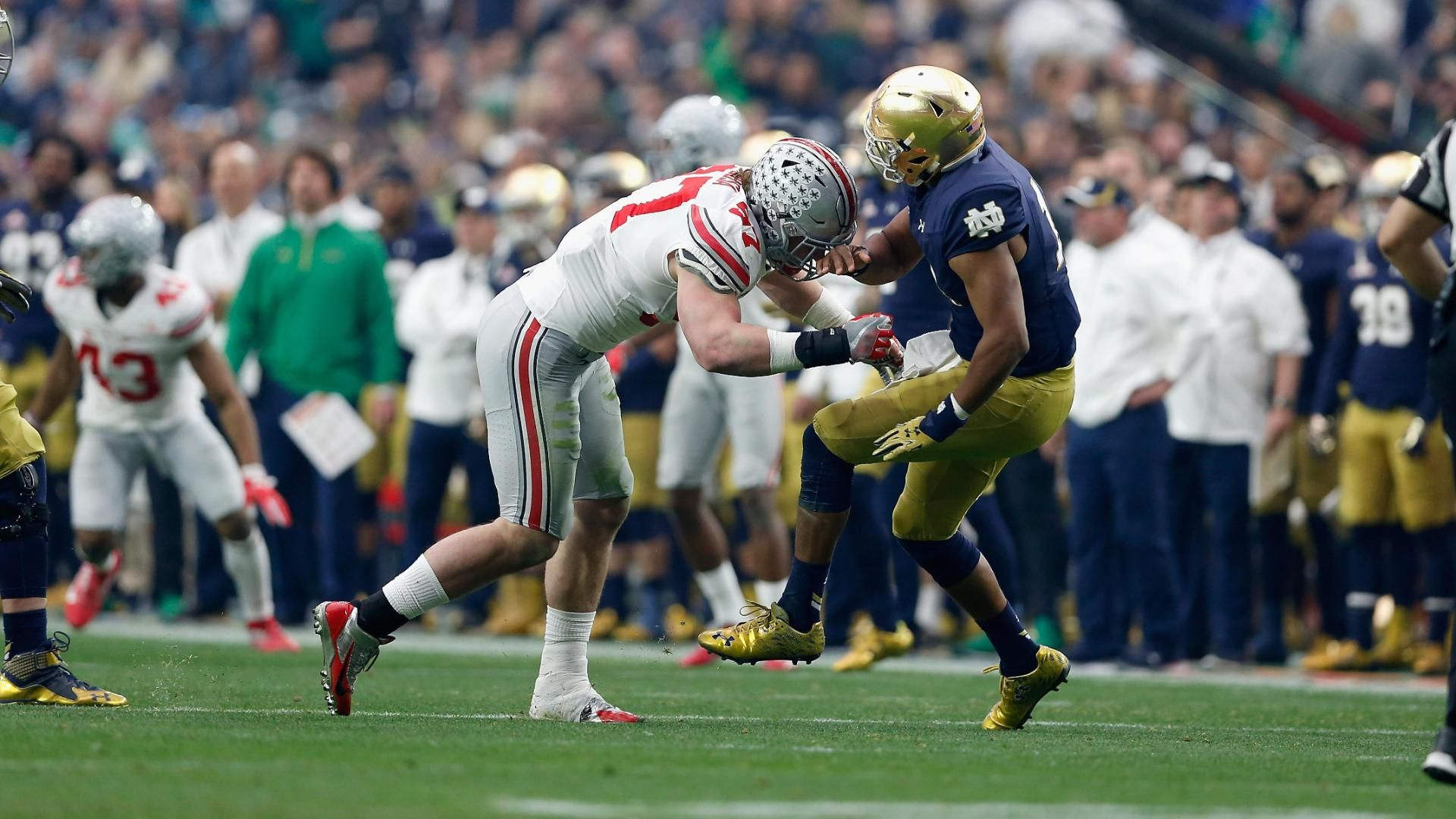 Bosa's college career ends with targeting penalty