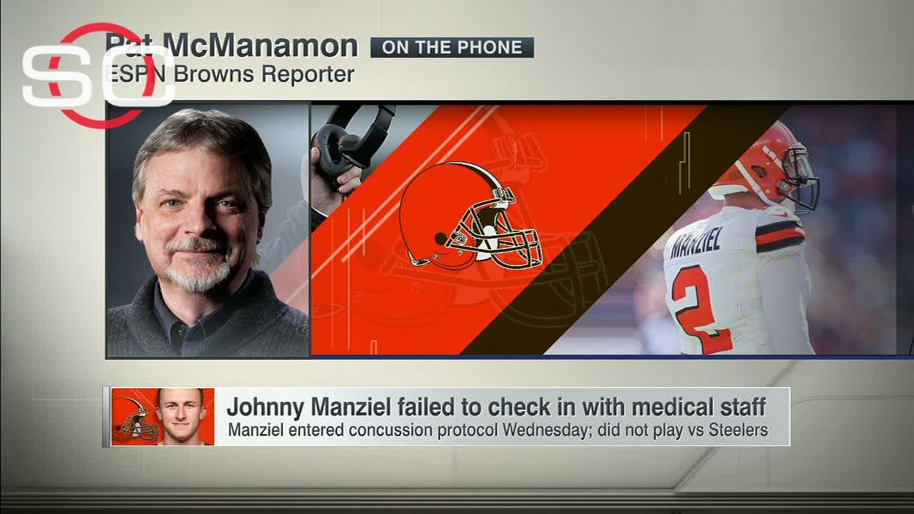 Manziel doesn't check in with medical staff