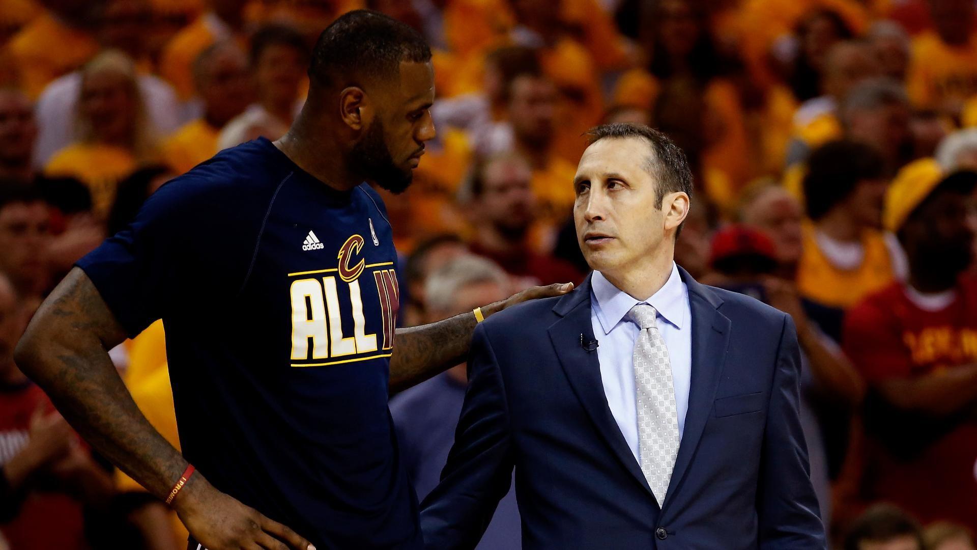 LeBron shuts down 'coach killer' criticism