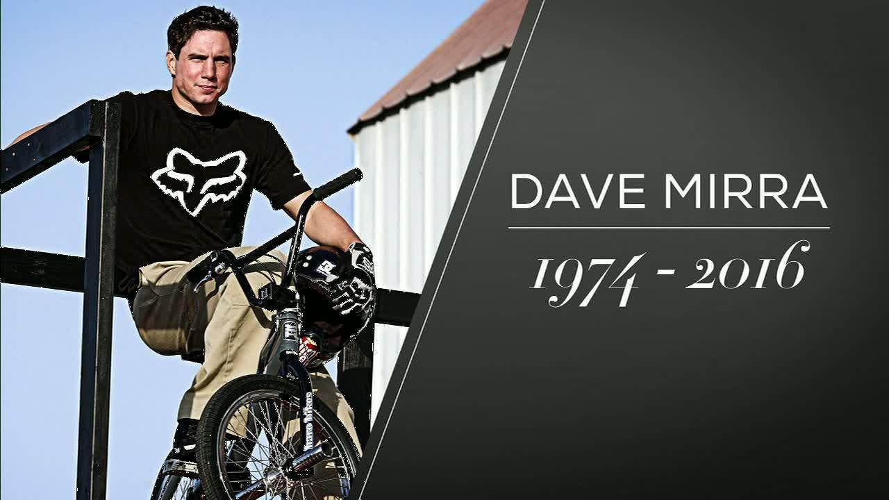 X Games icon Dave Mirra dies at 41