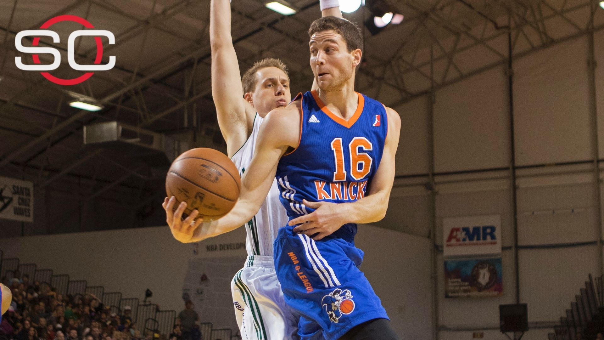 Fredette's D-League production led to signing with Knicks