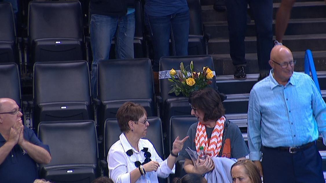 Thunder fans remember Ingrid Williams