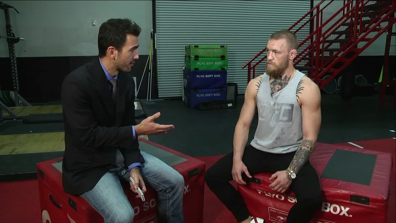 McGregor: His body will be ripped to shreds, it's a soft frame