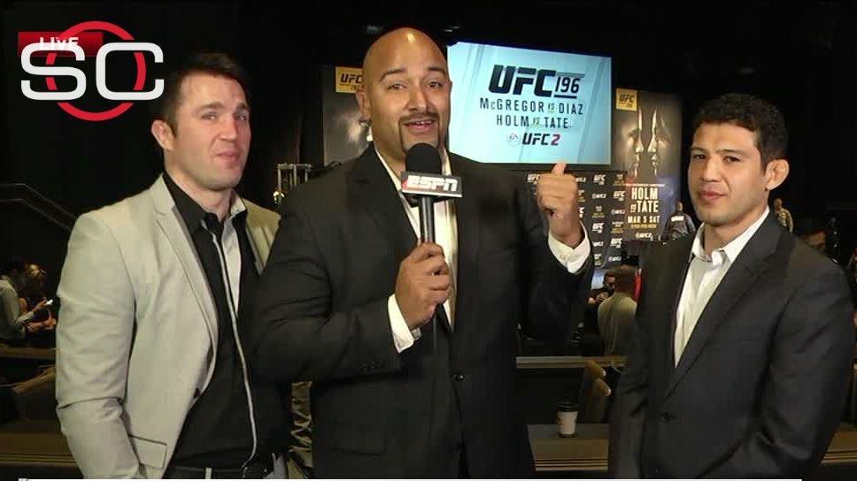 McGregor-Diaz confrontation good for hyping fight