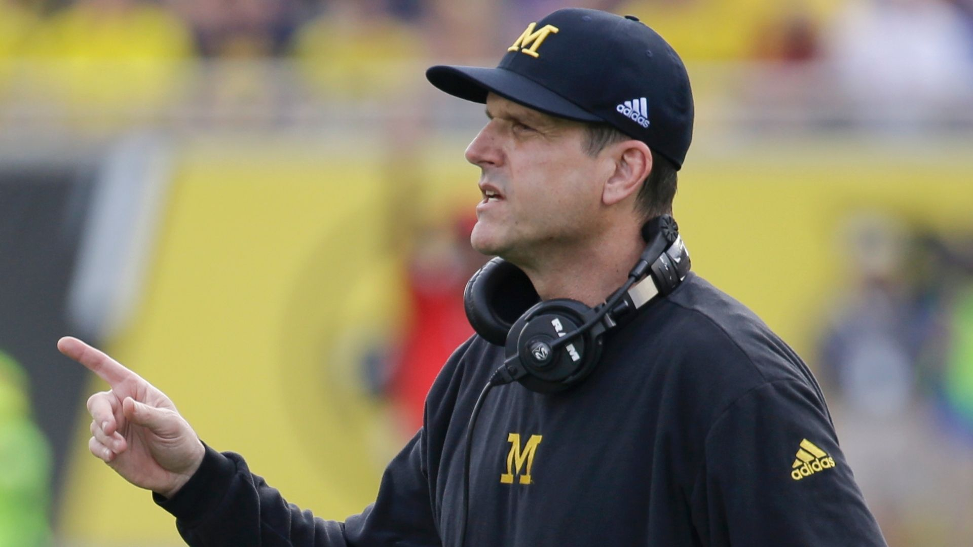 Harbaugh not concerned with coaches reactions