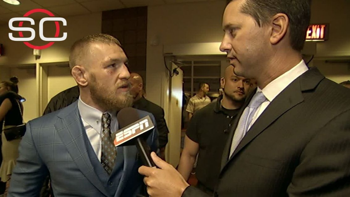 McGregor on loss: I'll take it on the chin and bounce back