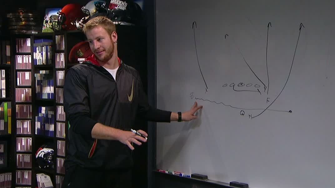 Gruden's QB Camp: Film room with Carson Wentz