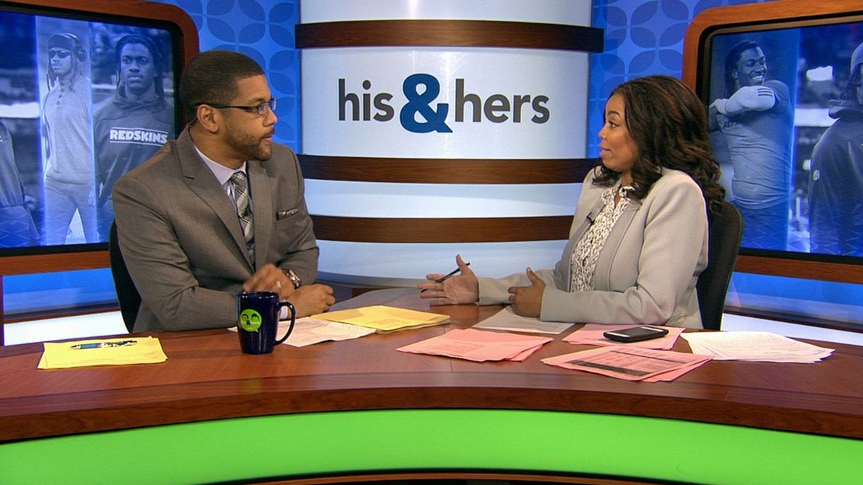 His & Hers: RG III is finally wanted by a team