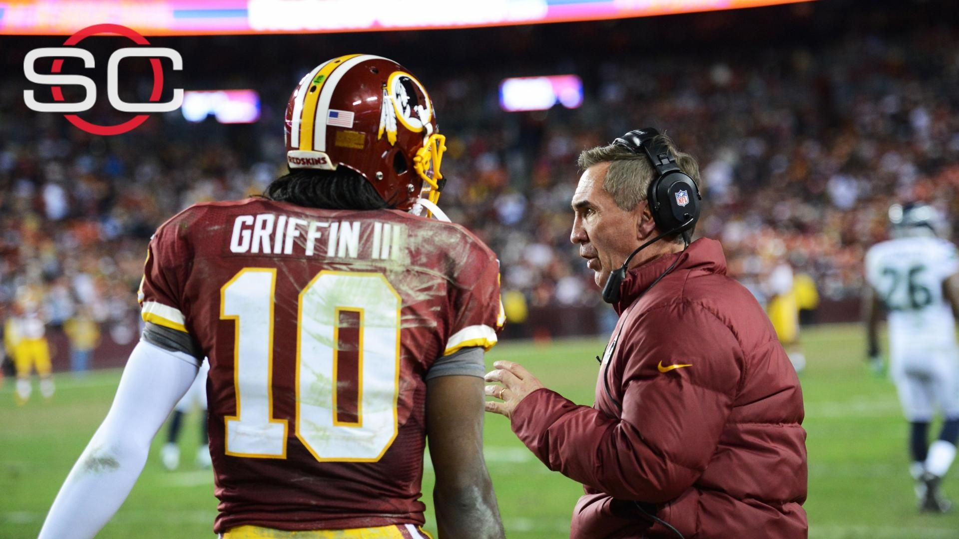 Shanahan offers advice, preaches patience to RG III