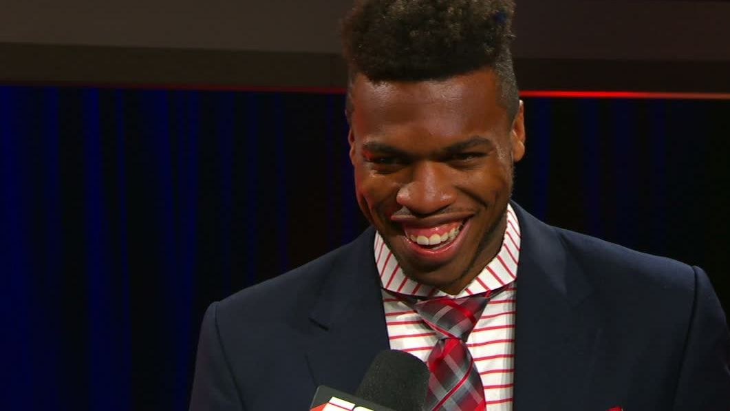 Hield built his first hoop, now wins Wooden Award