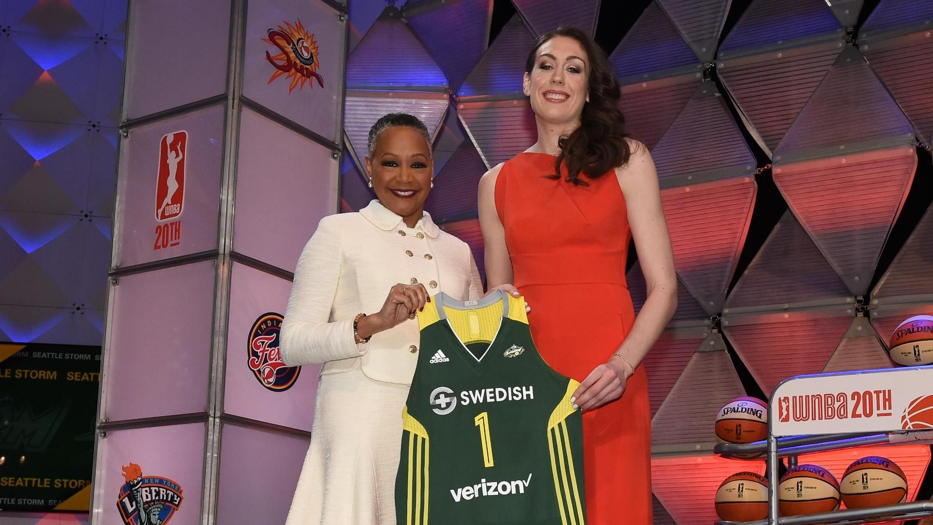 Breanna Stewart drafted No. 1 overall