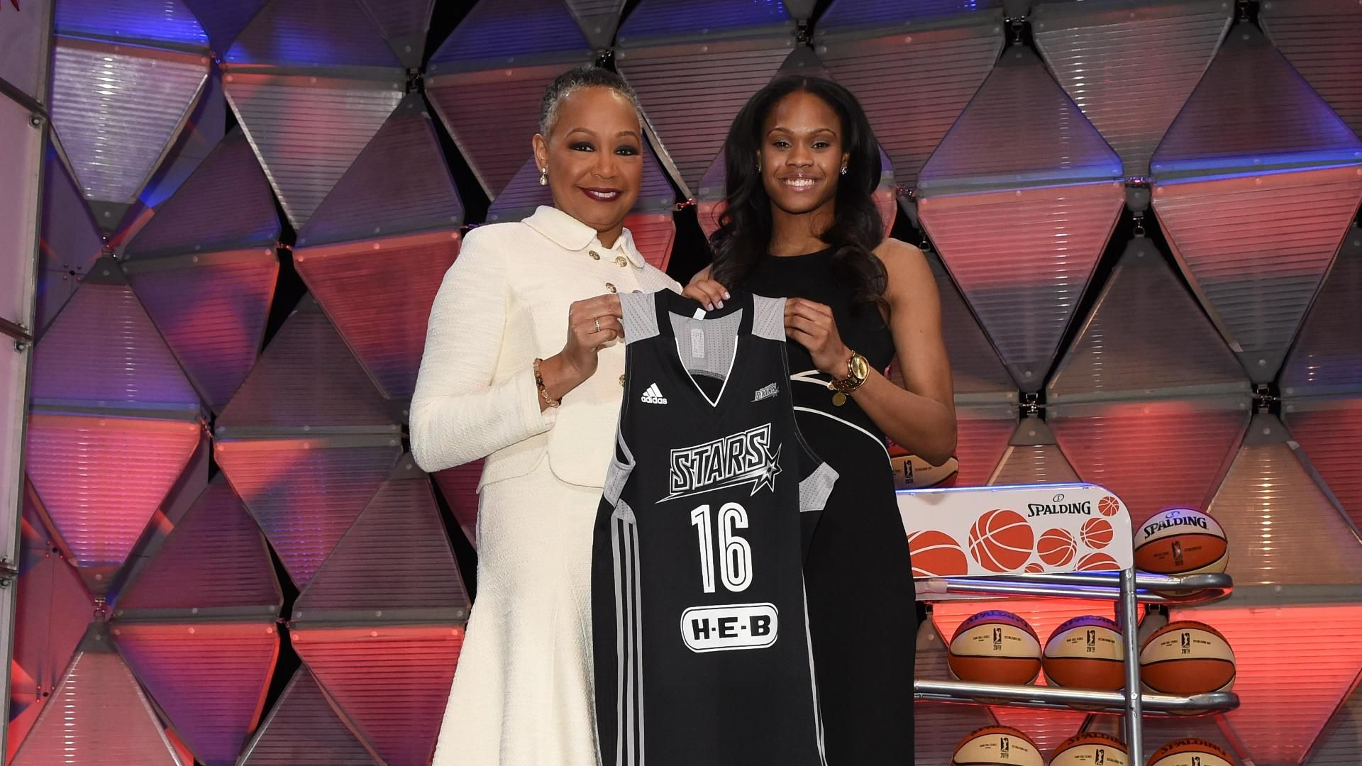 Stars tab Jefferson as No. 2 pick