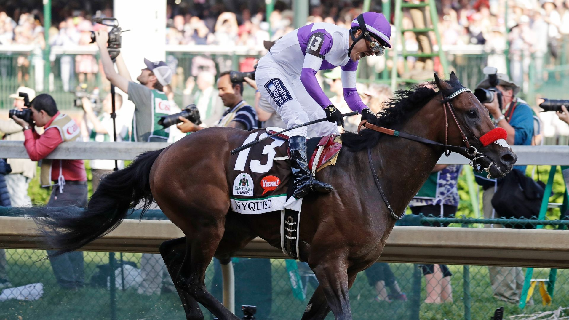 Nyquist's trainer: He's a super horse