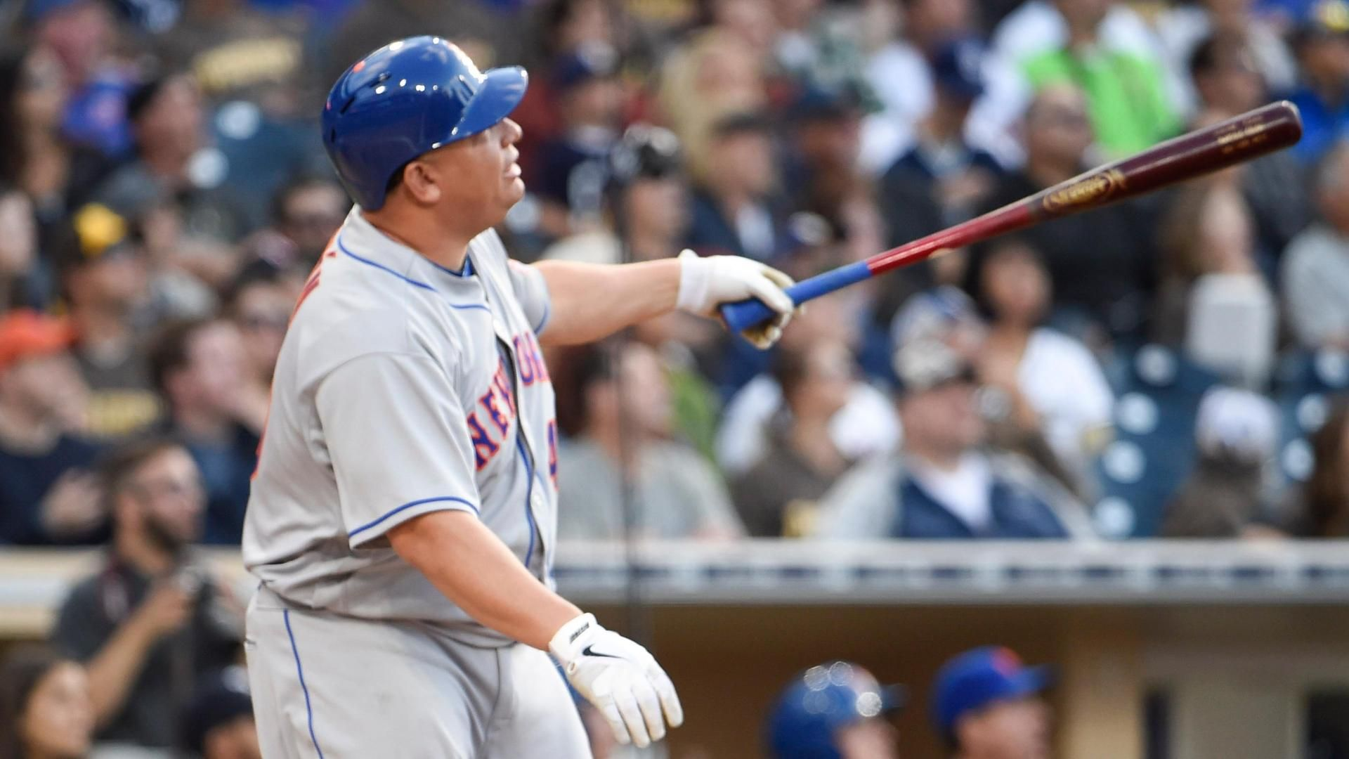 Bartolo Colon has never homered... until today!