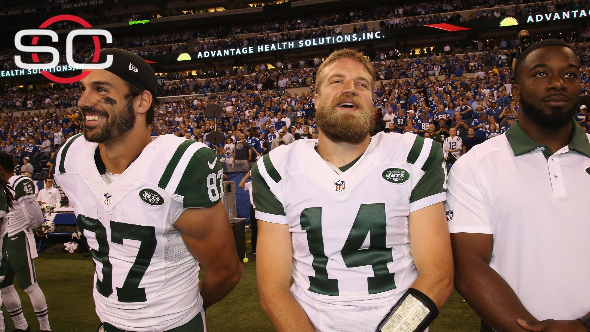 Decker supports QB Fitzpatrick