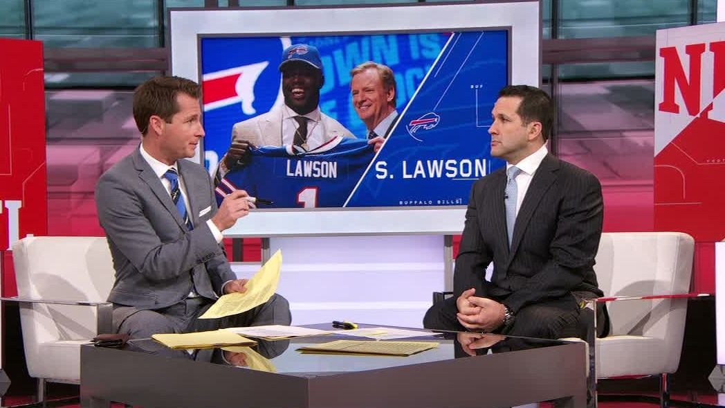 Schefter: Bills not likely to get much from Lawson in rookie year