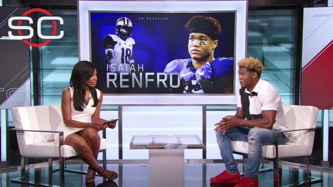 Renfro: 'I don't view myself as a hero'