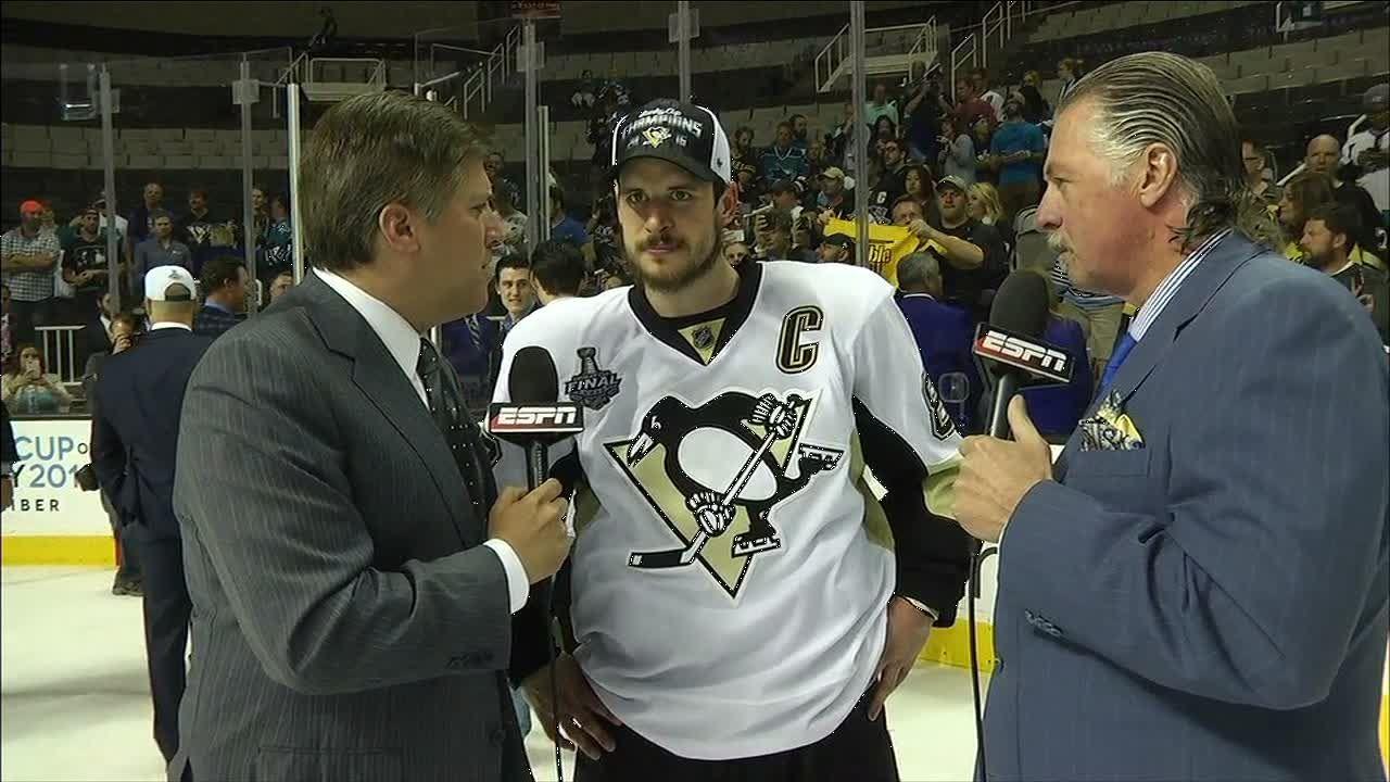 Crosby: 'This one definitely feels really good'
