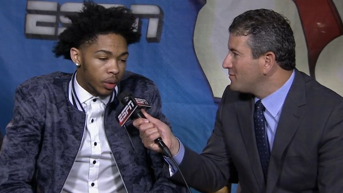 Ingram on going No. 2: Anything can happen
