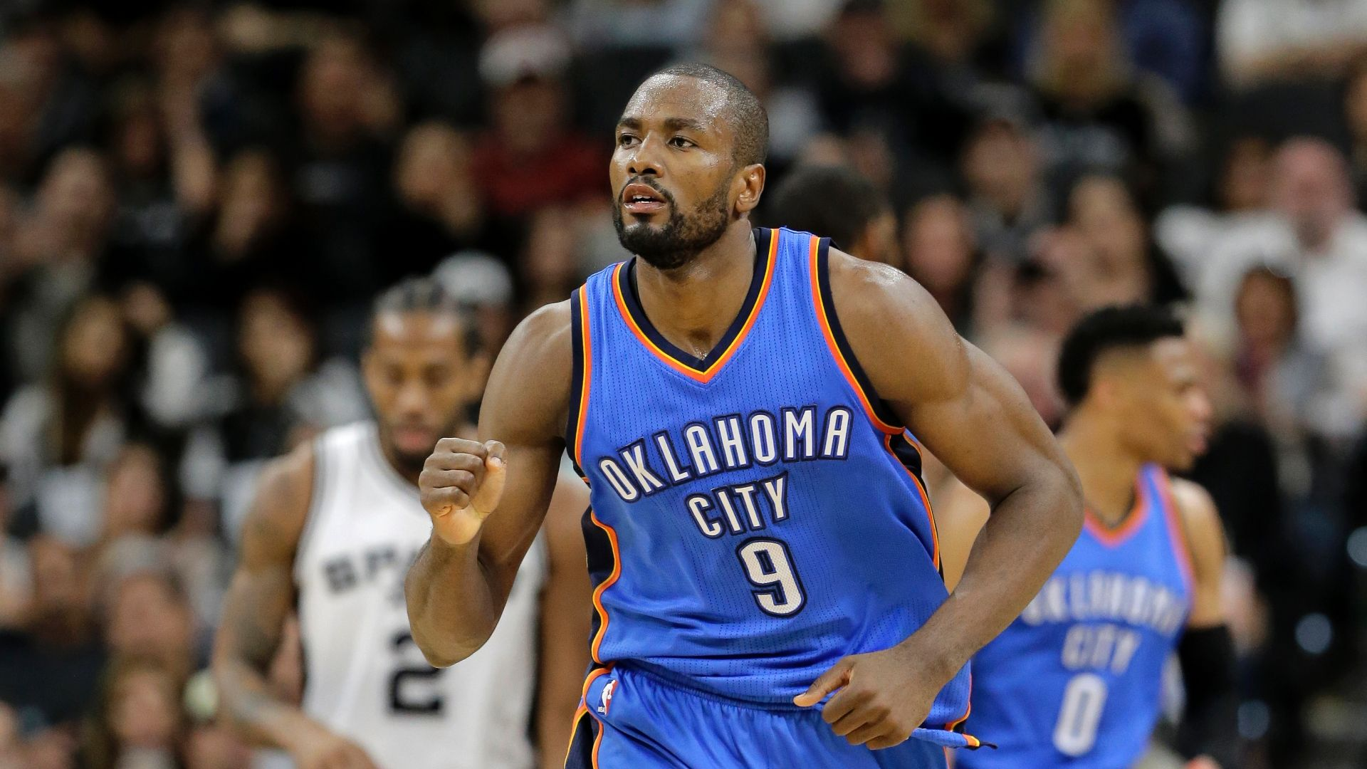Thunder preparing for future by trading Ibaka?