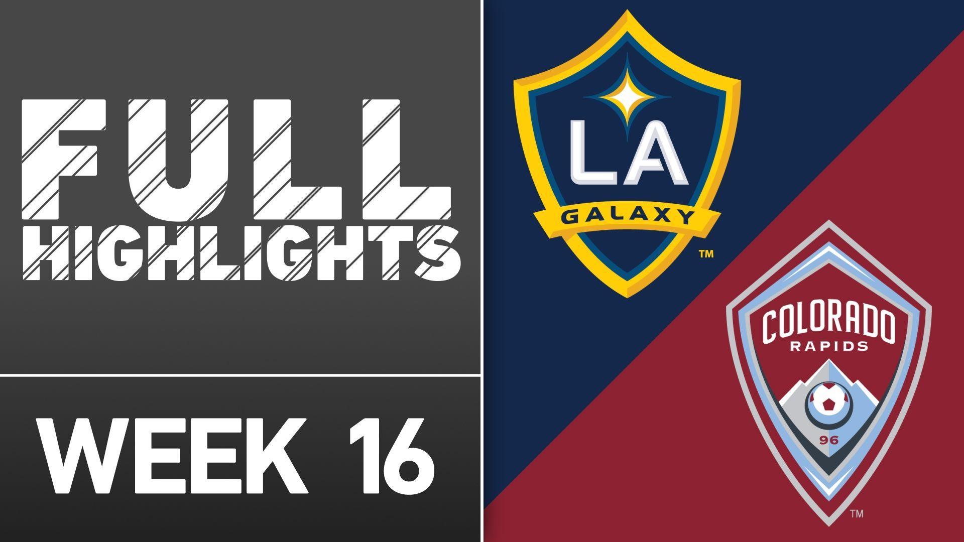 Video via MLS: LA Galaxy 0-0 Colorado
