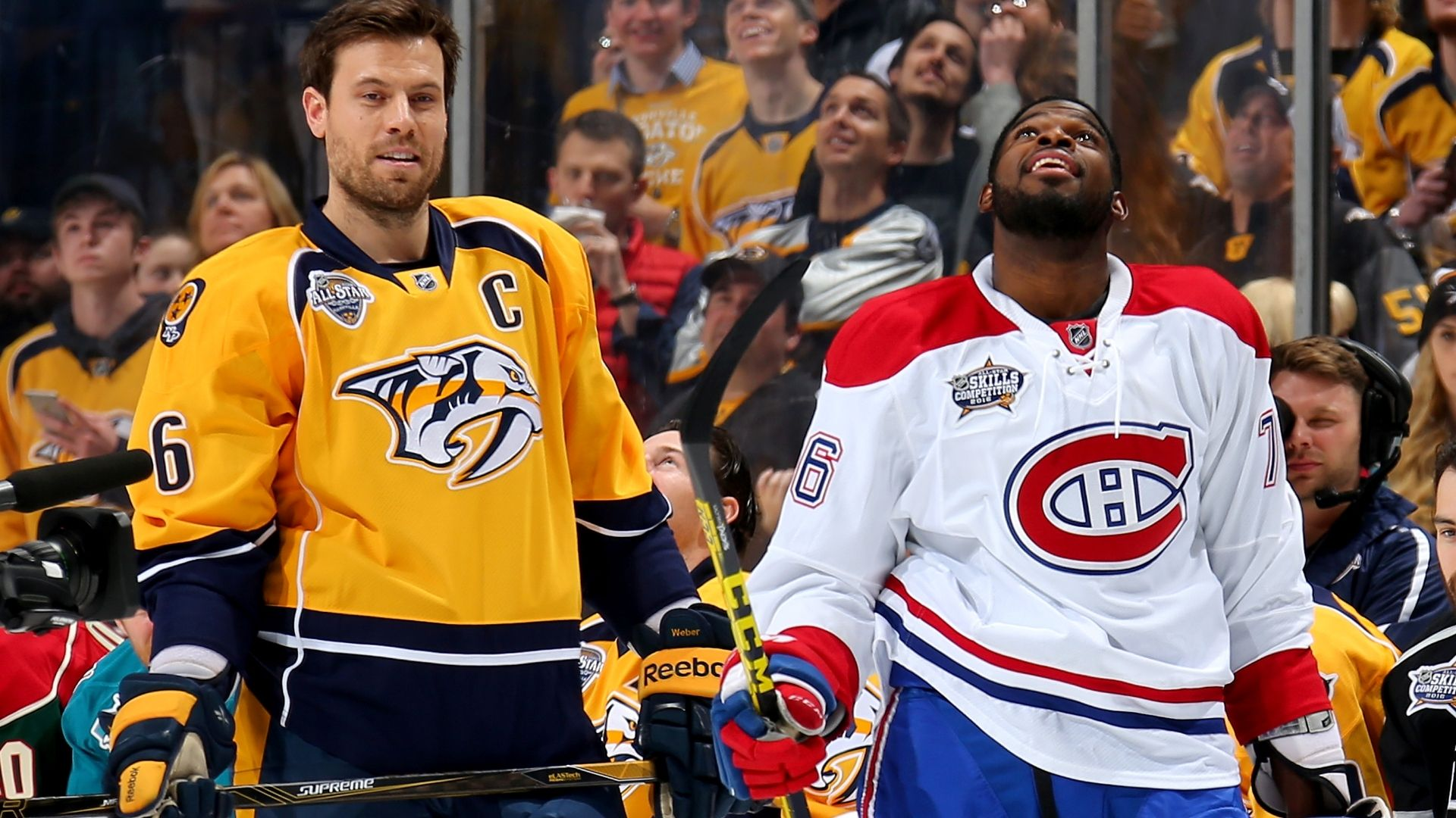 Subban traded to Predators, Weber goes to Habs