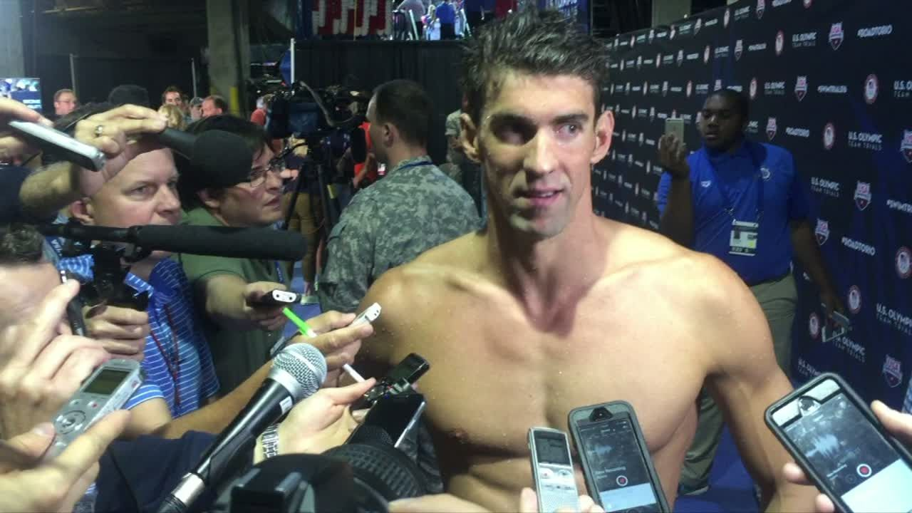 Phelps: 'Getting on the team was the most important thing'