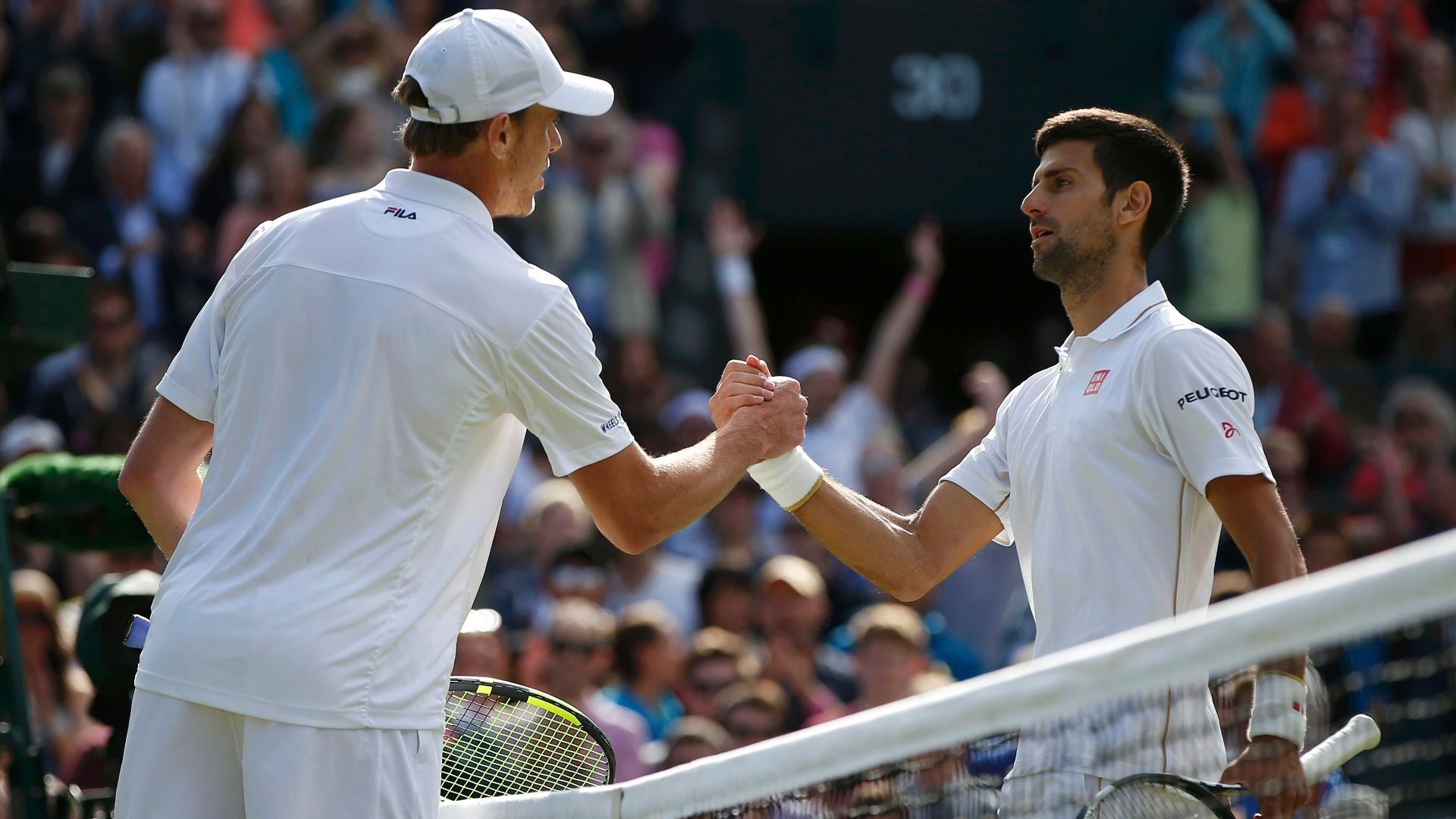 Querrey shocks Djokovic at Wimbledon