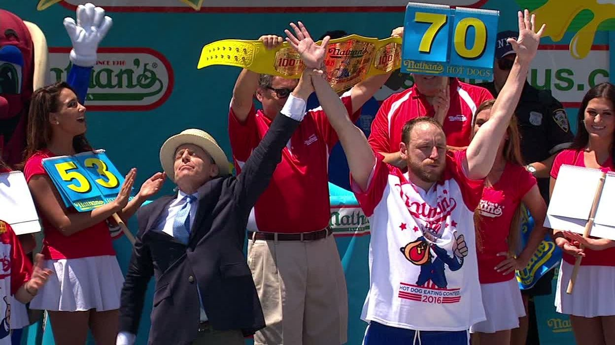Joey Chestnut Stomach