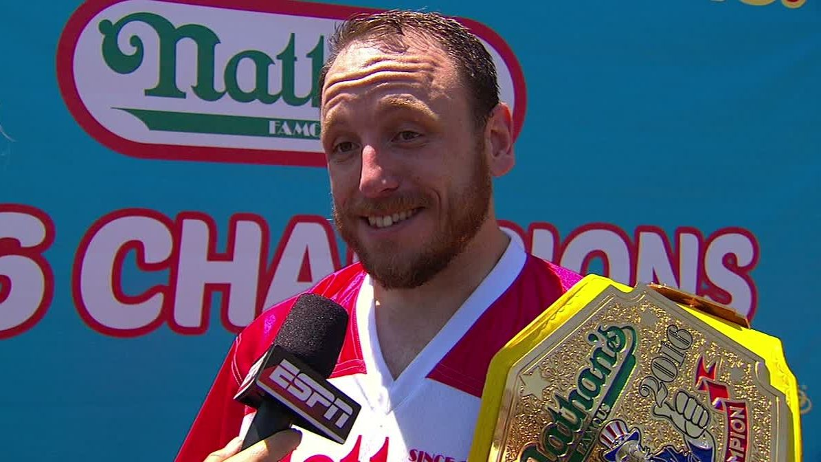 Joey Chestnut: 'My body was working'