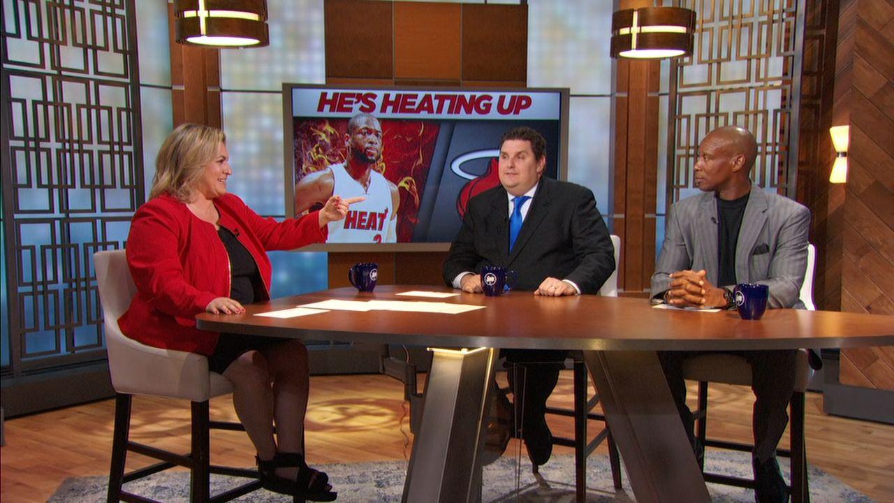 Wade playing hardball with Heat