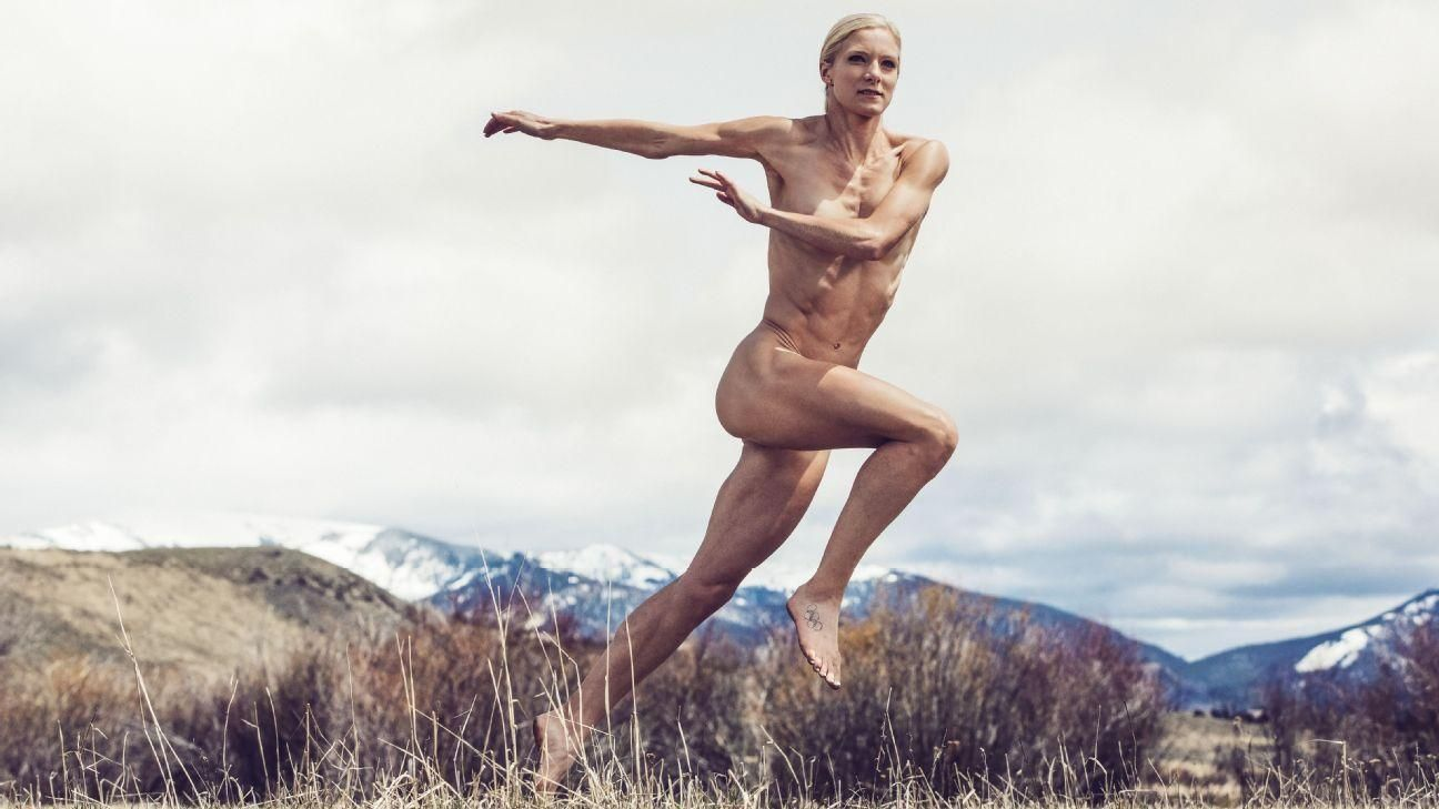 Behind the Scenes: Emma Coburn's Body Issue shoot