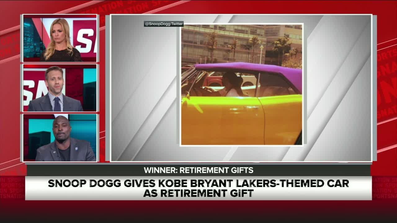 Snoop's gift to Kobe doesn't fit his lifestyle