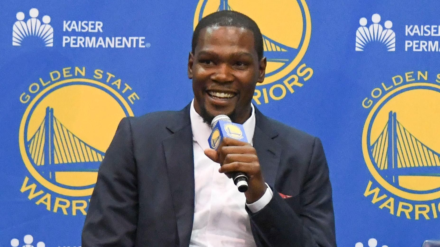 Durant couldn't ignore authentic feel of Golden State